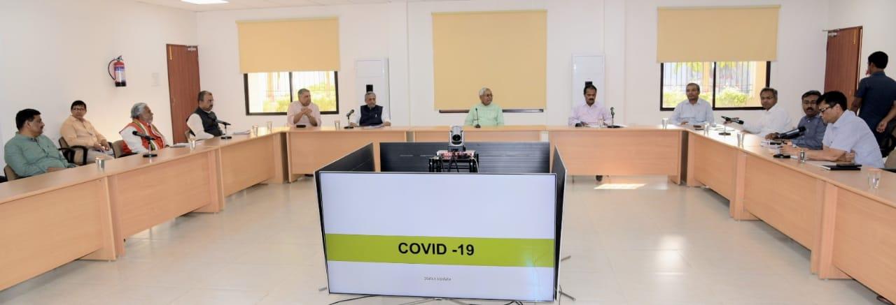 मुख्यमंत्री की अध्यक्षता में कोरोना संक्रमण, ए0ई0एस0, बर्ड फ्लू एवं स्वाईन फ्लू को लेकर हुई उच्चस्तरीय बैठक,
