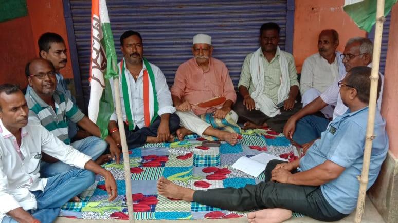जमालपुर विधायक के दौरा को लेकर कांग्रेस कार्यकर्ताओं की बैठक,