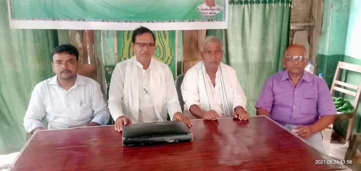 तारापुर विधानसभा उपचुनाव में पूर्व केंद्रीय मंत्री जयप्रकाश नारायण यादव को प्रत्याशी बनाने की मांग,